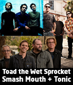 Toad the Wet Sprocket, Smash Mouth and Tonic summer concert in Denver at Arvada Center