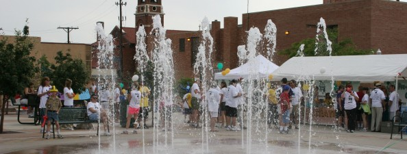 Olde Town Water Fountain Opens Image