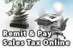 Remit and Pay Sales and use Tax Online Portal